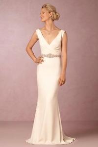 Cream Dress by Badgley Mischka