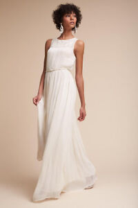 NWT BHLDN Jayne Gown Sz. 4 in Ivory For Sale!