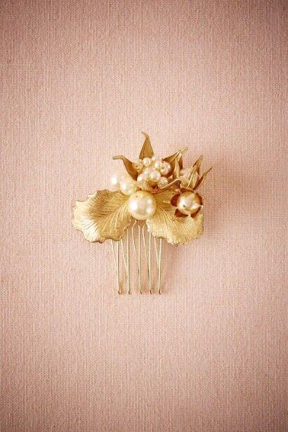 New in Box Gold BHLDN Saint-Germain Comb, Paris by Debra Moreland