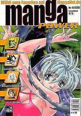Manga Power Nr. 15 u.a Peach Girl, Chobits, Turn A Gundam, Psychic Academy