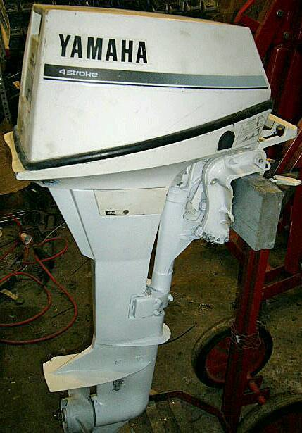 Yamaha 9  Stroke Outboard Boat Engine For Sale