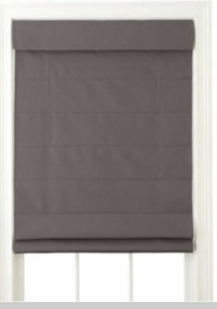 NEW JCPenney Home, DOVER Cordless Roman Shade, Fabric, Fold, Window Blind NIB