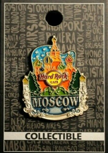 NEW! Hard Rock Cafe Moscow City Icon Russia Pin NEW!