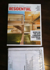 Electrical Wiring Residential Book Based on 2018 Canadian Code