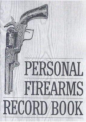 Personal Firearms Record Book   Gun Inventory Log