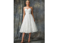 Tea-Length Wedding Dress Size 16 *BRAND NEW*