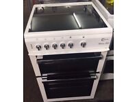 FLAVEL CHROME DESIGN 60cm ELECTRIC COOKER, NEW MODEL ,EXCELLENT CONDITION, 4 MONTHS WARRANTY