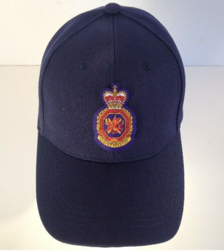 Cap #4 - Royal H. K. Auxiliary Air Force w/color badge