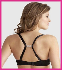 Racer Back Clip - Silicone Bra Strap Converter - FAST FREE 1ST CLASS UK DELIVERY