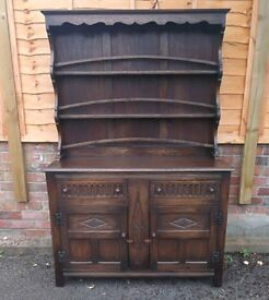 Edwardian oak dresser