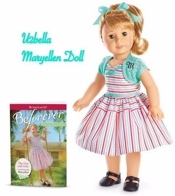 American Girl Maryellen Doll & Book Mary Ellen BEFOREVER New in Box