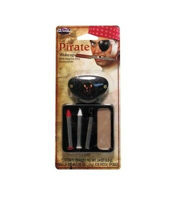 Rubie's 33548 Pirate Makeup with Eye Patch