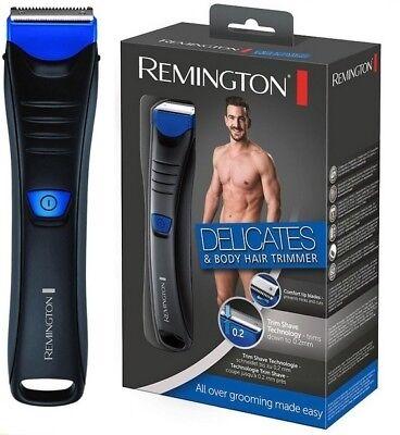 NEW REMINGTON BHT250 Delicates & Body Hair Trimmer for Men