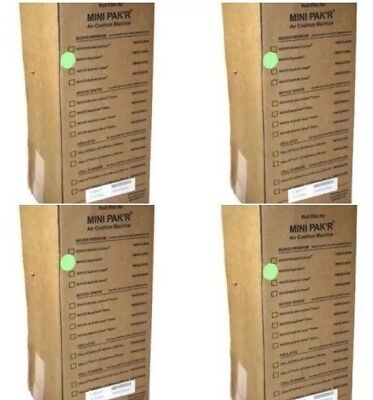 New! Mini Pak'r Premium Double Cushion Bubble Wrap Roll FMPDCL8650 Lot Of 4 Roll