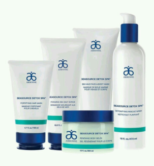 Arbonne Sea Source Detox Spa SET BRAND NEW