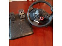 Logitech Driving Force GT Racing Wheel PS3/PC