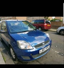 Ford fiesta 1.25 style blue