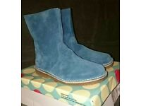Mini Boden suede leather boots size 39, UK 6