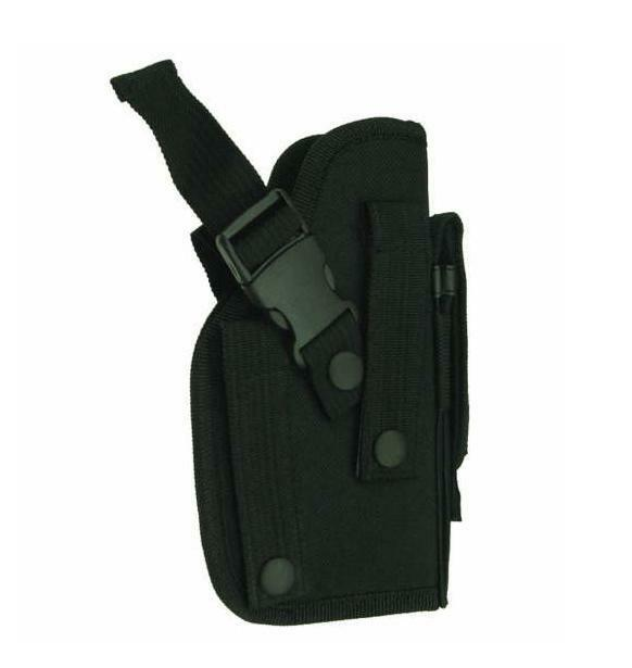 NEW BLACK MOLLE Ambidextrous right left hand belt holster fo