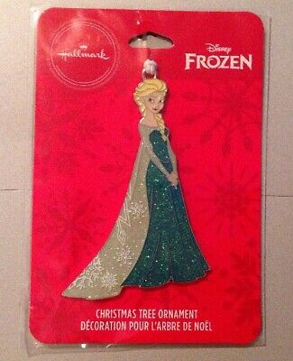 2019 Hallmark Disney Frozen Elsa Christmas Tree Ornament New In Package