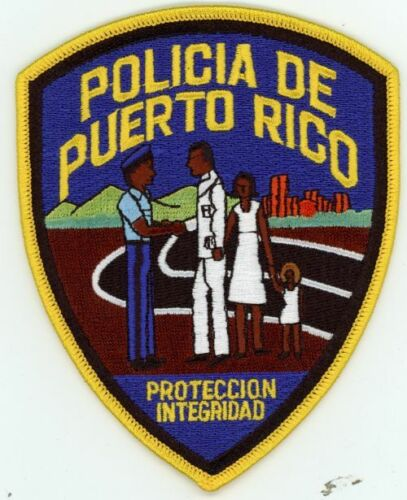 PUERTO RICO POLICE NEW PATCH SHERIFF