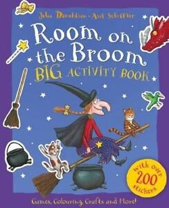 Room on the Broom Big Activity Book by Julia Donaldson (Paperback, 2014)