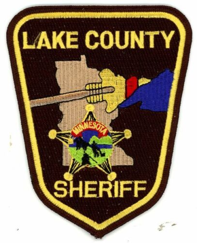 LAKE COUNTY SHERIFF MINNESOTA MN NEW PATCH POLICE