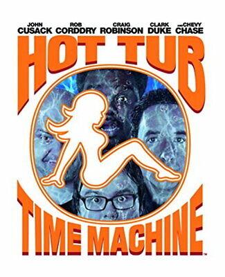 Hot Tub Time Machine Steel Pack [New Blu-ray]