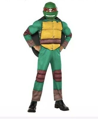 Teenage Mutant Ninja Turtle Costume For Boys Size M (8-10) - NEW - Ninja Turtle Costumes For Boys