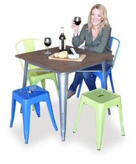Bar Stools - Replica Tolix - Boxed & Ready to Go - From $39 Osborne Park Stirling Area Preview