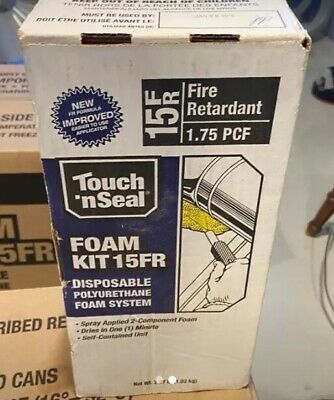 Touch N Seal Air Sealing Insulating Spray Foam Sealant Kit 2.27 Lb. 15fr