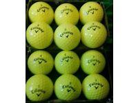 Grade A yellow ball 10 for £7.50