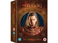 The Tudors - The Complete Series 1 - 4 (DVD) ~ Brand New Box Set