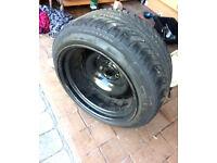 BANDED STEELS 4X100 16''9-10J STAGGERED BMW E30 316 318 320 325 VW GOLF MK1 MK2 MK3 HONDA CIVIC MINI