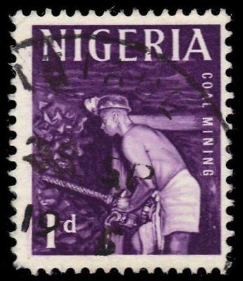 "NIGERIA 102 (SG90) - Cultural Heritage ""Coal Mining"" (pa80482)"