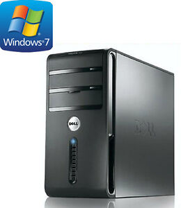Ordinateur Dell - Intel Core 2 Quad 2.5 GHz - Windows 7 Pro a ve