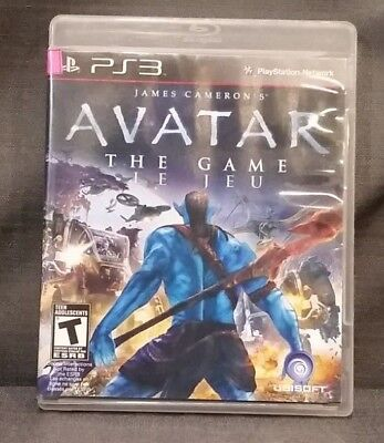 Avatar: The Game  (Playstation 3, 2009) PS3 Video Game