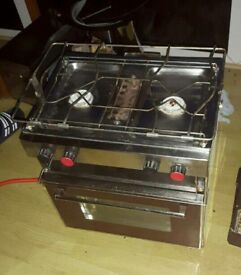 Plastimo neptune 2000 Stainless steel gimbled gas oven grill and hob