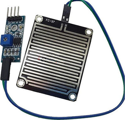 2pcs Humidity Detection Sensor Module Rain Detection For Arduino