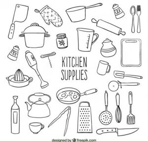 In need of kitchen supplies!
