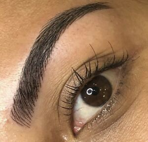 Microblading $200 + one free touch up (optional)