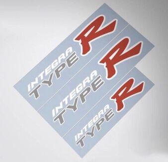 Honda Integra Type R sticker decal