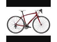 TREK LEXA red woman's 52cmroad bike