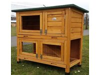 Rabbit hutches 3ft wide