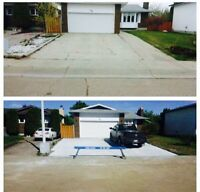 Driveways, RV pads, you name it we do it call today!!