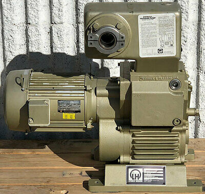Leybold E75e 75 Rotary Piston Single Stage Vacuum Pump 50 Cfm