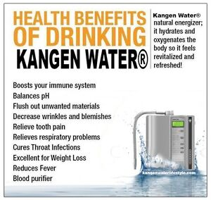 Enagic Kangen Water Ironizing System-Windsor Region Windsor Region Ontario image 1