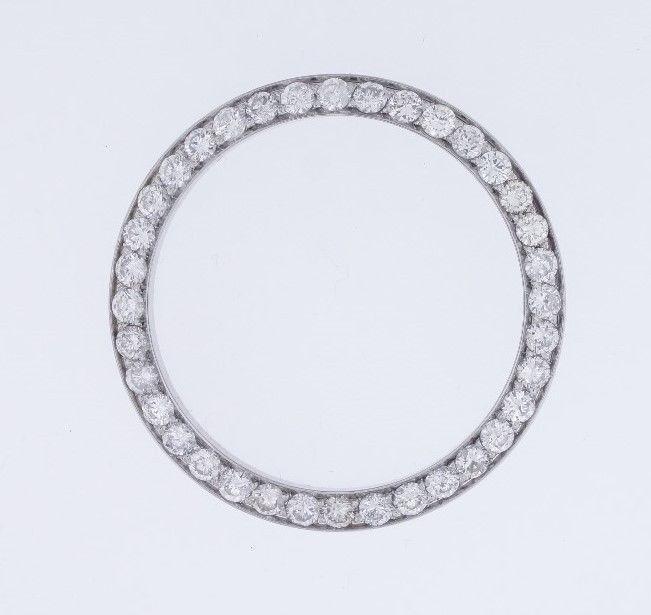 3.00 Ct Round White Diamond Bezel for Rolex DateJust & DayDate 36mm Watch ASAAR