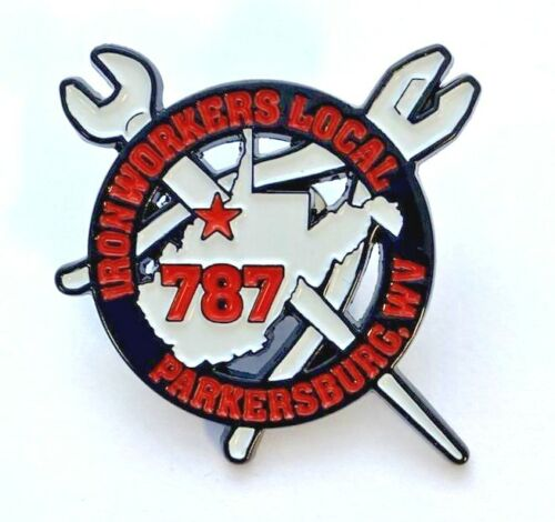 Ironworkers Local 787 Emblem