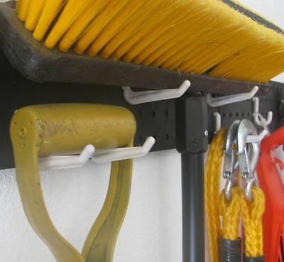 50 PC. JUMBO PEG HOOK KIT- PEGBOARD GARAGE TOOL STORAGE